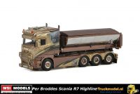 WSI Models 01-2447 Per Broddes Scania R7 Haakarm containerauto