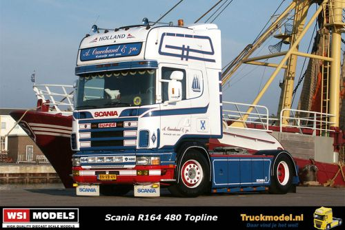 Reservering WSI Models 01-3243 A.Ouwehand Scania R164 Topline
