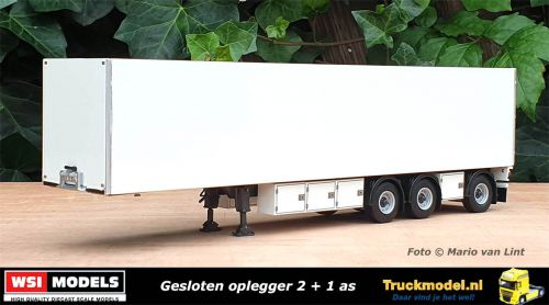 WSI Models 03-2034 3 as Gesloten oplegger 2 plus 1 as