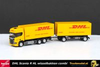 Herpa 309400 DHL Scania NG R Highline wissel koffer combi