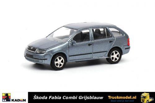 Kaden 385745 Skoda Fabia Combi 2005 Grijsblauw metallic