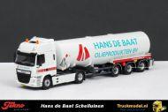 Tekno 68721 Hans de Baat DAF CF Euro 6 Space Cab tankoplegger