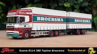 Tekno 75475 Broersma Scania R114 Topline schuifzeilcombi