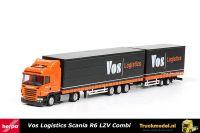 Herpa 159340 Vos Logistics Scania R schuifzeil LZV combinatie