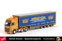 Herpa 159814 Steinle Schwerlast Volvo FH16 Meusburger dieplader