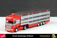 Herpa 301350 A.Drost Int Veetransport Scania R TL Veetrailer