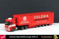 Herpa 303101 Colonia Spezialfahrzeuge Mercedes Meusburger dieplader