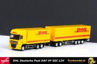 Herpa 303293 DHL Deutsche Post DAF XF105 SSC Kasten LZV combi