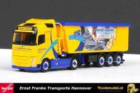 Herpa 306102 Ernst Franke Hannover Volvo FH04 kippertrailer