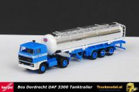 Herpa Bos Dordrecht Daf 3300 tankoplegger