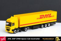 Herpa De Kleine DHL DAF CF85 Space Cab boxtrailer