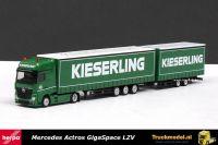 Herpa 159395 Kieserling Mercedes Gigaliner LZV