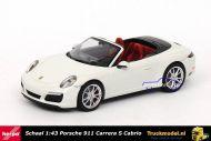 Herpa 070980 Porsche 911 Carrera S Cabriolet White