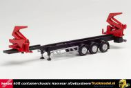 Herpa 076982 40ft Hammar containertrailer met afzetsysteem