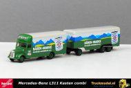 Herpa 143974 Josef Reiter Baren-Marke Mercedes L311 kasen combinatie