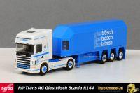 Herpa 230711 Ro-Trans CH Scania R144 Topline Glastransporter