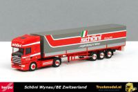 Herpa 240307 Schoni Transport AG Scania 124 TL huifoplegger