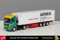 Herpa 256711 Gartner KG Thermo Express MAN TGA Koeltrailer