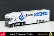 Herpa 303187 Ewals Cargo Care Scania Streamline Topline Dubbele laadvloer oplegger