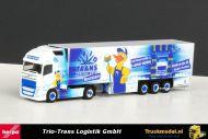 Herpa 304320 Trio Trans Logistik GmbH Volvo FH Globetrotter XLKoeloplegger