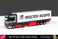 Herpa 305907 Wolter Koops DAF XF Euro 6 Super Space Cab koeloplegger