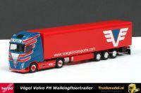 Herpa 305921 Vogel Volvo FH4 Walkingfloortrailer