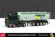 Herpa 305983 Freund Frechen DAF XF Euro 6 SSC Kipper silotrailer