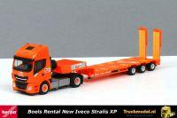 Herpa 309318 Boels Rental Iveco Stralis XP semi dieplader