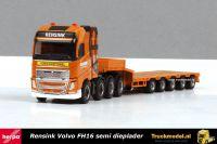 Herpa 309523 Rensink Almelo BV Volvo FH16 semi dieplader