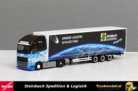 Herpa 309875 Steinbach Spedition Volvo FH XL schuifzeiloplegger