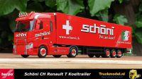 Herpa 311090 Schoni CH Renault T Range trekker koeltrailer