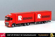 Herpa 938587 Reining DAF XF MY2017 SC schuifzeil wipkar combinatie