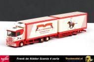 Herpa 120593 Frank de Ridder Scania 4 serie wipkar combinatie showvitrine