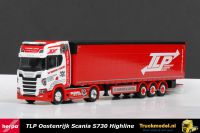 Herpa 307680 TLP Logistik Scania S730 Highline schuifzeilenoplegger