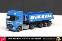 Herpa 308119 Willi Betz DAF XF Euro 6 SSC kippertrailer