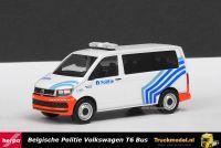 Herpa 930970 Politie Belgie Volkswagen T6 Bus