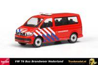 Herpa 930987 Brandweer Nederland VW T6 Bus
