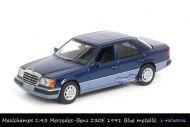 Maxichamps 940 037001 Mercedes-Benz 230E 1991 Blue metallic