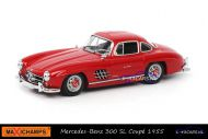 Maxichamps 940 039001 Mercedes-Benz 300 SL Coupe 1955 Rood