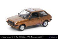 Maxichamps 940 085101 Ford Fiesta 1976 Brown metallic