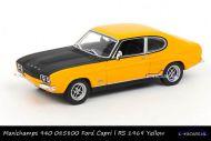 Maxichamps 940 085800 Ford Capri l RS 1969 Yellow