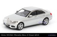 Norev 351321 Mercedes-Benz C Klasse 2014 zilver