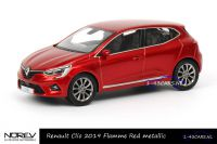 Norev 517587 Renault Clio 2019 Flamme Red Metallic