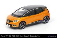 Norev 77 11 780 364 Renault Scenic 2016 Jaune Noir