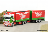 WSI Models 01-1282 Scania Wipkar combinatie Spedition Wehle