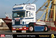 Reservering WSI 01-3243 A.Ouwehand Scania R164 Topline