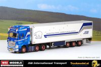 WSI Models 01-3361 J.Swijnenburg Mercedes Actros Koeltrailer