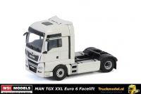 WSI Models 03-2023 MAN TGX XXL Euro 6 Facelift 4x2 trekker wit