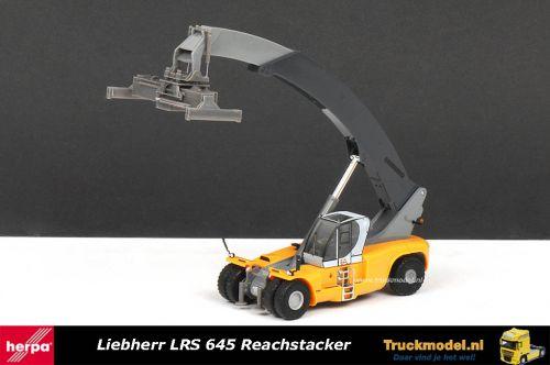 Herpa 302302 Liebherr LRS 645 Reachstacker