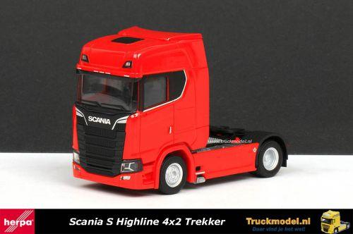 Herpa 307468-002 Scania S Highline 4x2 Trekker